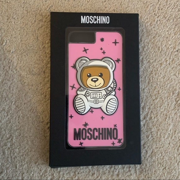 moschino iphone 6 mirror phone case nwt